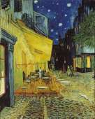 Cafe Terrace at Night (CLE 31470), a 1000 piece Clementoni jigsaw puzzle.