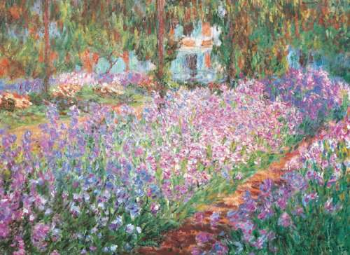 Monet's Garden (EUR64908), a 1000 piece jigsaw puzzle by Eurographics. Click to view larger image.