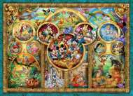 Best Disney Themes (RB15266-7), a 1000 piece Ravensburger jigsaw puzzle.