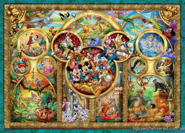 Best Disney Themes (RB15266-7), a 1000 piece jigsaw puzzle by Ravensburger.