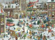 Christmas (JUM13007), a 1000 piece jigsaw puzzle by Jumbo and artist Jan van Haasteren. Click to view this jigsaw puzzle.