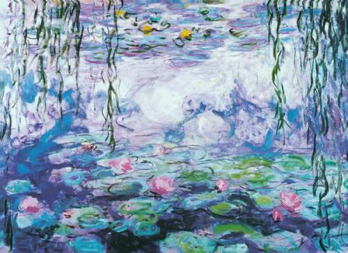 Water Lilies (EUR64366), a 1000 piece jigsaw puzzle by Eurographics. Click to view larger image.