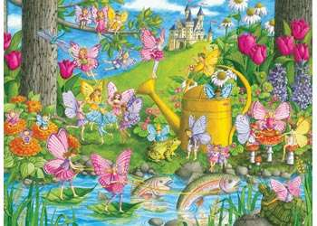 Fairy Playland (RB10602-8), a 100 piece jigsaw puzzle by Ravensburger. Click to view larger image.