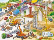 Construction Site (RB10896-1), a 100 piece Ravensburger jigsaw puzzle.