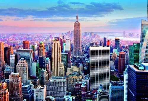 Midtown Manhattan, New York (EDU14811), a 1000 piece jigsaw puzzle by Educa. Click to view larger image.