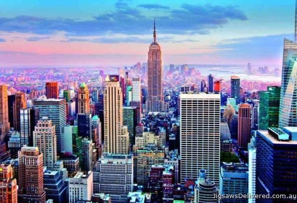 Midtown Manhattan, New York (EDU14811), a 1000 piece jigsaw puzzle by Educa.