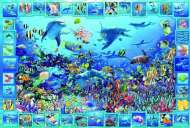 Dolphin Kingdom (EDU14828), a 5000 piece Educa jigsaw puzzle.