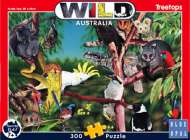 Treetops (Wild Australia Educational Series) (BL01983), a 300 piece Blue Opal jigsaw puzzle.