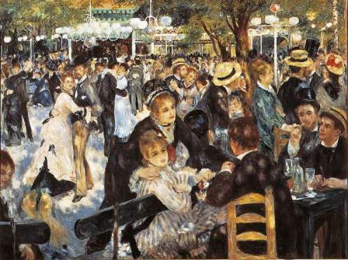 Bal du moulin de la Galette (CLE 31412), a 1000 piece jigsaw puzzle by Clementoni. Click to view larger image.