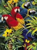 Majestic Macaws (3D effect) (CLE 39188), a 1000 piece jigsaw puzzle by Clementoni. Click to view this jigsaw puzzle.