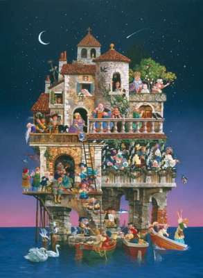 Superstitions (1500pc) (SUN67592), a 1500 piece jigsaw puzzle by Sunsout. Click to view larger image.