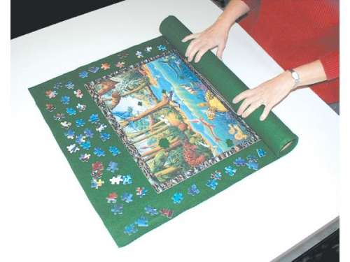 Jigsaw Storage Roll - up to 3000pc (JUM17691), a 3000 piece jigsaw puzzle by Jumbo. Click to view larger image.