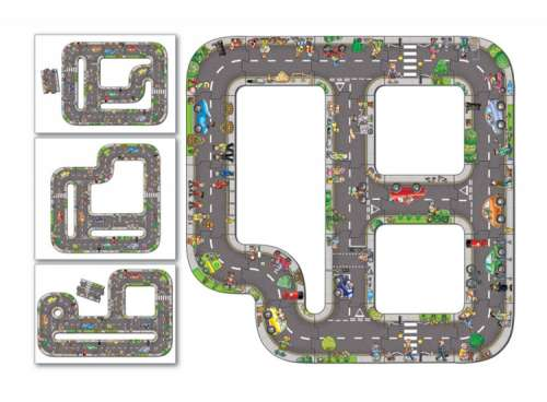 Road (Giant Floor Puzzle) (OC286), a 20 piece jigsaw puzzle by Orchard Toys. Click to view larger image.