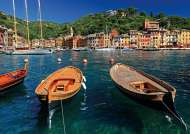 Harbour in Portofino (RB19053-9), a 1000 piece Ravensburger jigsaw puzzle.