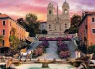 Rome (Romantic Italy) (CLE 39219), a 1000 piece Clementoni jigsaw puzzle.