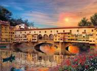 Florence (Firenze - Romantic Italy) (CLE 39220), a 1000 piece Clementoni jigsaw puzzle.