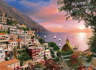 Positano (Romantic Italy) (CLE 39221), a 1000 piece jigsaw puzzle by Clementoni and artist Dominic Davison. Click to view this jigsaw puzzle.