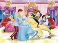 Dancing Disney Princesses (RB13127-3), a 300 piece Ravensburger jigsaw puzzle.