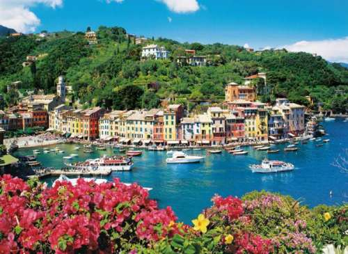 Portofino (CLE 31986), a 1500 piece jigsaw puzzle by Clementoni. Click to view larger image.