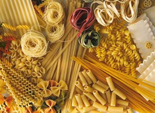 Dry Pasta (CLE 39203), a 1000 piece jigsaw puzzle by Clementoni. Click to view larger image.