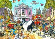 Market Mayhem (Destiny Wasgij #12) (JUM17229), a 1000 piece jigsaw puzzle by Jumbo and artist Graham Thompson. Click to view this jigsaw puzzle.