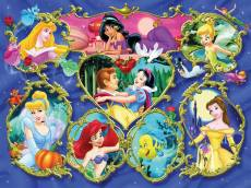 Gallery of Disney Princesses (RB13108-2), a 300 piece Ravensburger jigsaw puzzle.