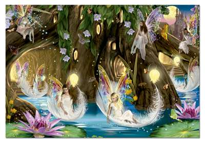 Fairy Ball (EDU15520), a 1000 piece jigsaw puzzle by Educa. Click to view larger image.