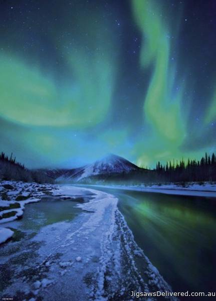 Northern Lights (HEY29549), a 1000 piece jigsaw puzzle by HEYE.