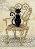 Chair (Cats) (HEY29535), a 1000 piece HEYE jigsaw puzzle.