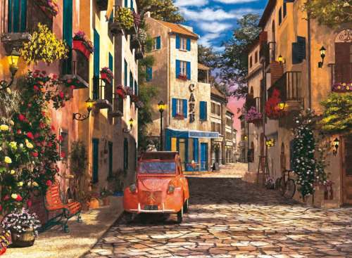 Heart of Southern France (RB14253-8), a 500 piece jigsaw puzzle by Ravensburger. Click to view larger image.
