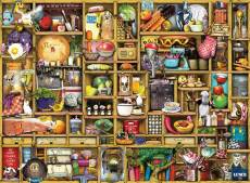 The Kitchen Cupboard (RB19298-4), a 1000 piece Ravensburger jigsaw puzzle.