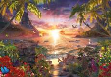 Heavenly Sunset (18000pc) (RB17824-7), a 18000 piece Ravensburger jigsaw puzzle.