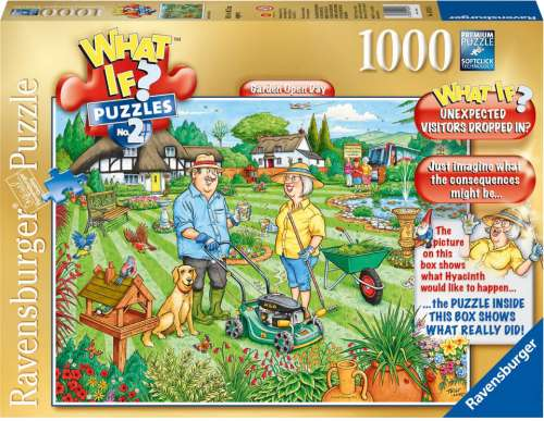 Open Day (What If? #2) (RB19322-6), a 1000 piece jigsaw puzzle by Ravensburger. Click to view larger image.