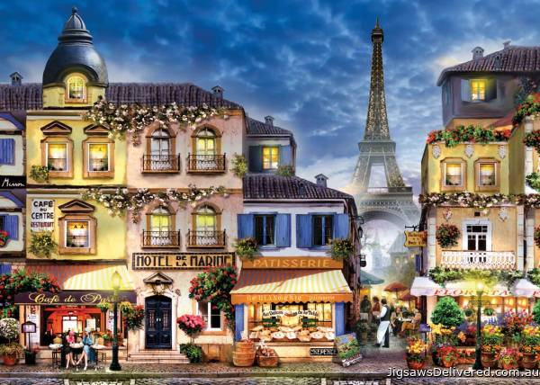 Pretty Paris (Large Pieces) (RB13560-8), a 300 piece jigsaw puzzle by Ravensburger.