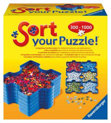 Sort Your Puzzle (RB17934-3), a 6 piece jigsaw puzzle by Ravensburger. Click to view larger image.