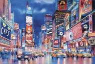 Times Square (Glow in the Dark) (CLE 39249), a 1000 piece Clementoni jigsaw puzzle.