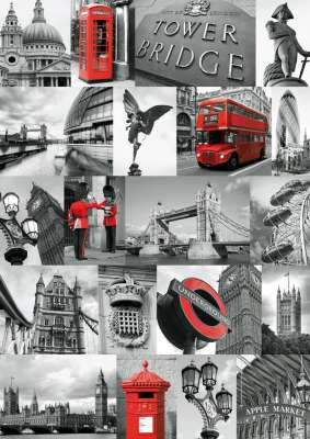 London (RB19144-4), a 1000 piece jigsaw puzzle by Ravensburger. Click to view larger image.