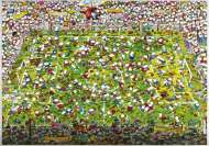 Crazy World Cup (HEY29072), a 4000 piece HEYE jigsaw puzzle.