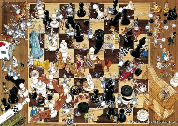 Black or White (HEY08793), a 1000 piece jigsaw puzzle by HEYE.