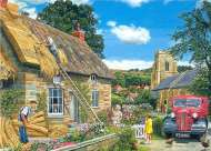 A New Thatch (Occupations) (HOL094004), a 1000 piece Holdson jigsaw puzzle.