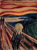 The Scream (EUR64489), a 1000 piece Eurographics jigsaw puzzle.