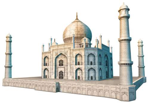 Taj Mahal 3D Puzzle (RB12564-7), a 216 piece jigsaw puzzle by Ravensburger. Click to view larger image.