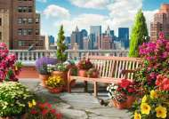 Rooftop Garden (Large Pieces) (RB14868-4), a 500 piece Ravensburger jigsaw puzzle.