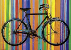 Freedom Deluxe (Bike Art) (HEY29541), a 1000 piece HEYE jigsaw puzzle.