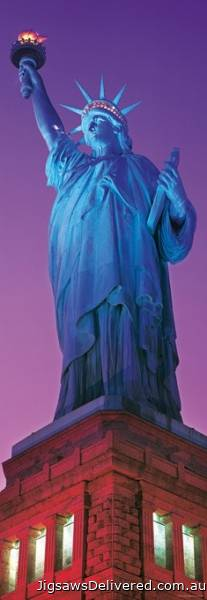 Statue of Liberty, New York (HEY29605), a 1000 piece jigsaw puzzle by HEYE.