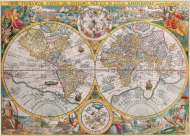 Historical Map (RB16381-6), a 1500 piece Ravensburger jigsaw puzzle.