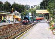 Sunny Day at Alresford (08668), a 1000 piece Holdson jigsaw puzzle.