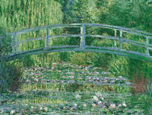 Water Lily Pond (CLE 39266), a 1000 piece jigsaw puzzle by Clementoni. Click to view larger image.