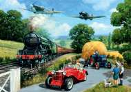 Wartime Summer (JUM11045), a 1000 piece jigsaw puzzle by Jumbo and artist Kevin Walsh. Click to view this jigsaw puzzle.