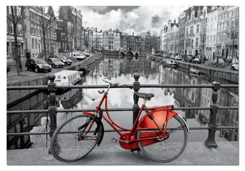 Amsterdam (EDU14846), a 1000 piece jigsaw puzzle by Educa. Click to view larger image.